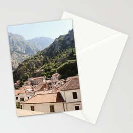 Morning in Montenegro Stationery Cards