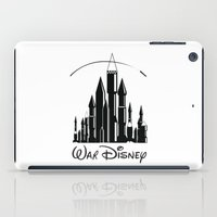 war iPad Cases featuring War  by Tony Vazquez