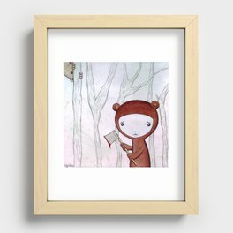 The Replacement Recessed Framed Print