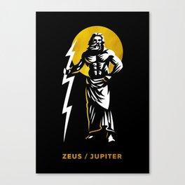 Zeus / Jupiter Canvas Print