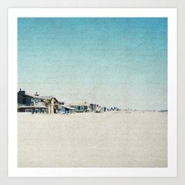 Life On The Beach Art Print