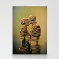 lovers Stationery Cards featuring Lovers. by David Prior Photography