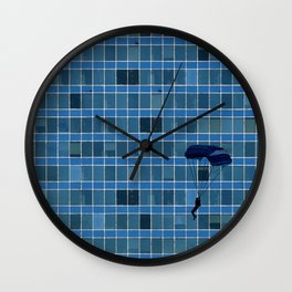 It's Not My Place Wall Clock