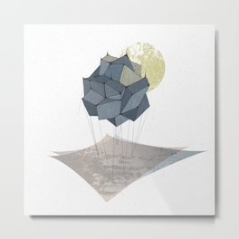 The Rock of Humanity Metal Print