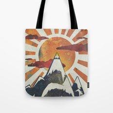 Mount Spitfire Tote Bag