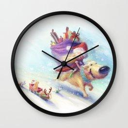 Christmas Companion Wall Clock