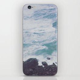 Blue Ocean - Seals on Rocks iPhone Skin