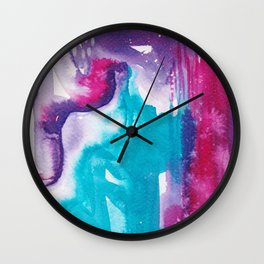 Intuitive - Karla Leigh Wood Wall Clock