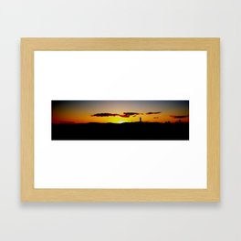 The Closing Moments Framed Art Print