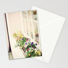 charleston flower boxes Stationery Cards