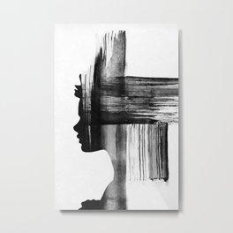 Strokes ... Metal Print