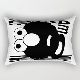 Emo Elmo Rectangular Pillow