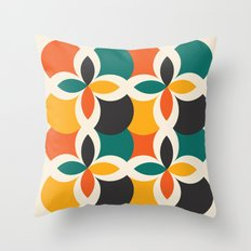 Midcentury Pattern 09 Throw Pillow