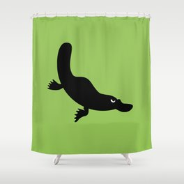 Angry Animals - Platypus Shower Curtain