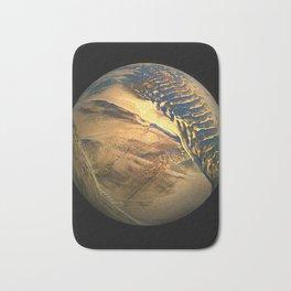 Globe20/For a round heart Bath Mat