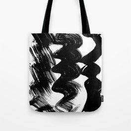 Brush stroke Tote Bag