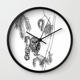 Owl Hour Wall Clock