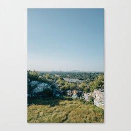 A Distant Boston Canvas Print