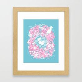 Spring Greeting Framed Art Print