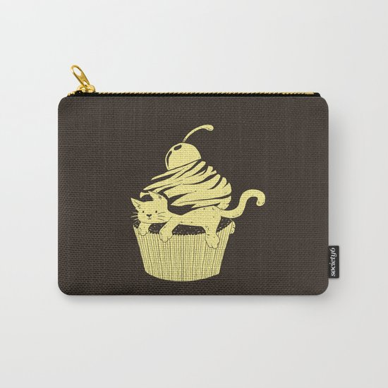 CatCake or CuteCat Carry-All Pouch