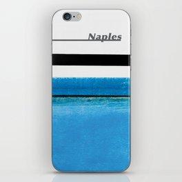 Naples Waterline Project iPhone Skin