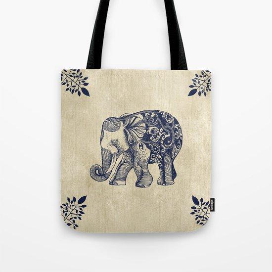 Simple Elephant Tote Bag