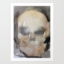 SkullWash Art Print