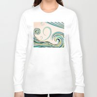 drink Long Sleeve T-shirts featuring In the Drink by DebS Digs Photo Art