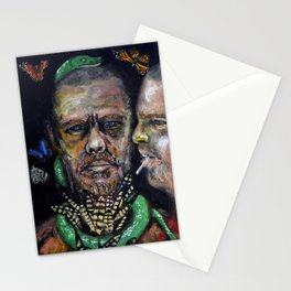 Queen of Fashion (oil on canvas) Stationery Cards