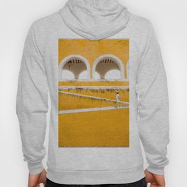 Colonial Mexico, Izamal in Yellow #buyart #society6 #decor Hoody