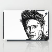 niall iPad Cases featuring Niall Horan by Hollie B