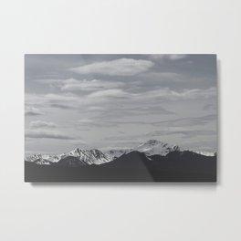 Vasquez Mountains Metal Print