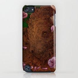 Buffalo Bloom iPhone Case