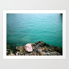 The Deep End Art Print