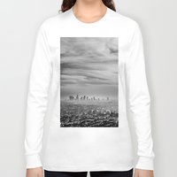 la Long Sleeve T-shirts featuring LA by petervirth photography
