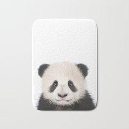 Baby Panda Bear Art Print by Zouzounio Art Bath Mat