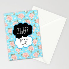 Coffee? Tea? Stationery Cards