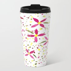 Petals and Joy Travel Mug