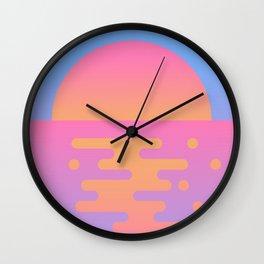 Paradise III Wall Clock