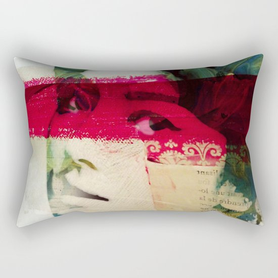 Saigon Sally Rectangular Pillow
