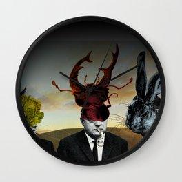Die drei Minister Wall Clock