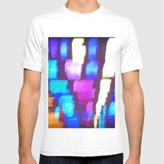Finger (Glass) Painting MEDIUM Mens Fitted Tee White