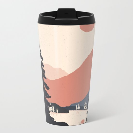 View From the East Shore... Metal Travel Mug