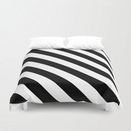 Stripe Black & White Duvet Cover