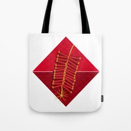 Firecrackers Vietnamese Lunar New Year Phao Tet Holiday Tote Bag