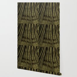 Gold and Black Fractal Wallpaper