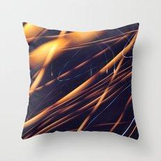 Long Exposure X Throw Pillow