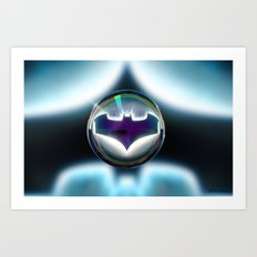 Drops of Superhero #1... Art Print