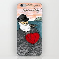 A Darwinian Heart iPhone & iPod Skin