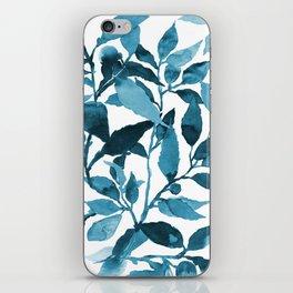 Leaves, Floral Vines iPhone Skin